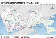 轨道交通重点建设项目布局规划图