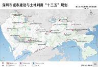 重大公共设施项目布局规划图